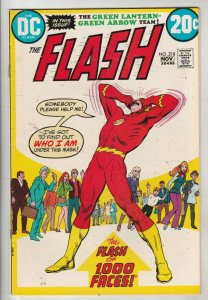 Flash, The #218 (Nov-72) VF/.NM High-Grade Flash