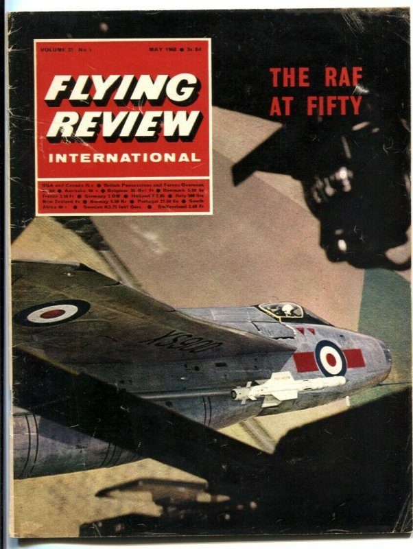 Flying Review International May 1968- THE RAF AT 50