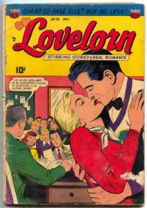 Lovelorn Comics #20 1951- classroom cover- Golden Age Romance G