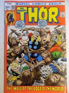 THOR # 195 MARVEL BRONZE ACTION HI GRADE