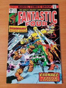 Fantastic Four #157 ~ FINE - VERY FINE VF ~ (1975, Marvel Comics)