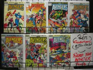 AVENGERS INDEX (1987) 1-7 COMPLETE!