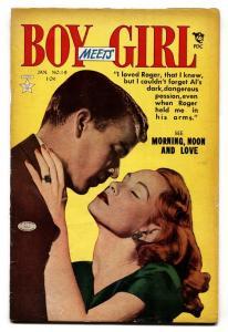 Boy Meets Girl #19 1952- Golden Age Romance-GGA VG