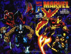 Marvel Annual Report #1993 VF; Marvel | save on shipping - details inside