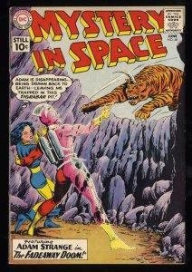 Mystery In Space #68 VF 8.0 Massachusetts