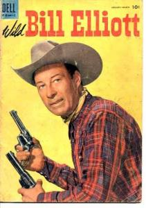 WILD BILL ELLIOT-#16-PHOTO COVER VG