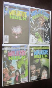 Wolverine Hulk Comics Set # 1 - 4 - 8.0 VF - 2002