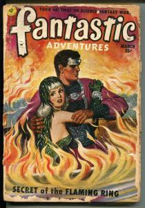FANTASTIC ADVENTURES 3/1951-ZIFF-DAVIS-PULP SCI-FI-COSTELLO-JOHN JAKES-fr