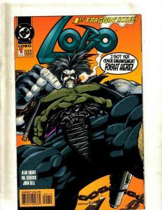 Lot of 12 Lobo DC Comic Books #1 2 3 4 5 7 8 9 0 10 11 12 J407