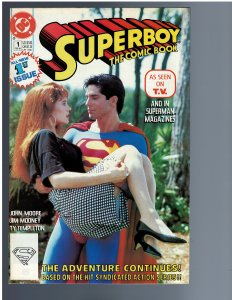 Superboy: The Comic Book #1 (1990)