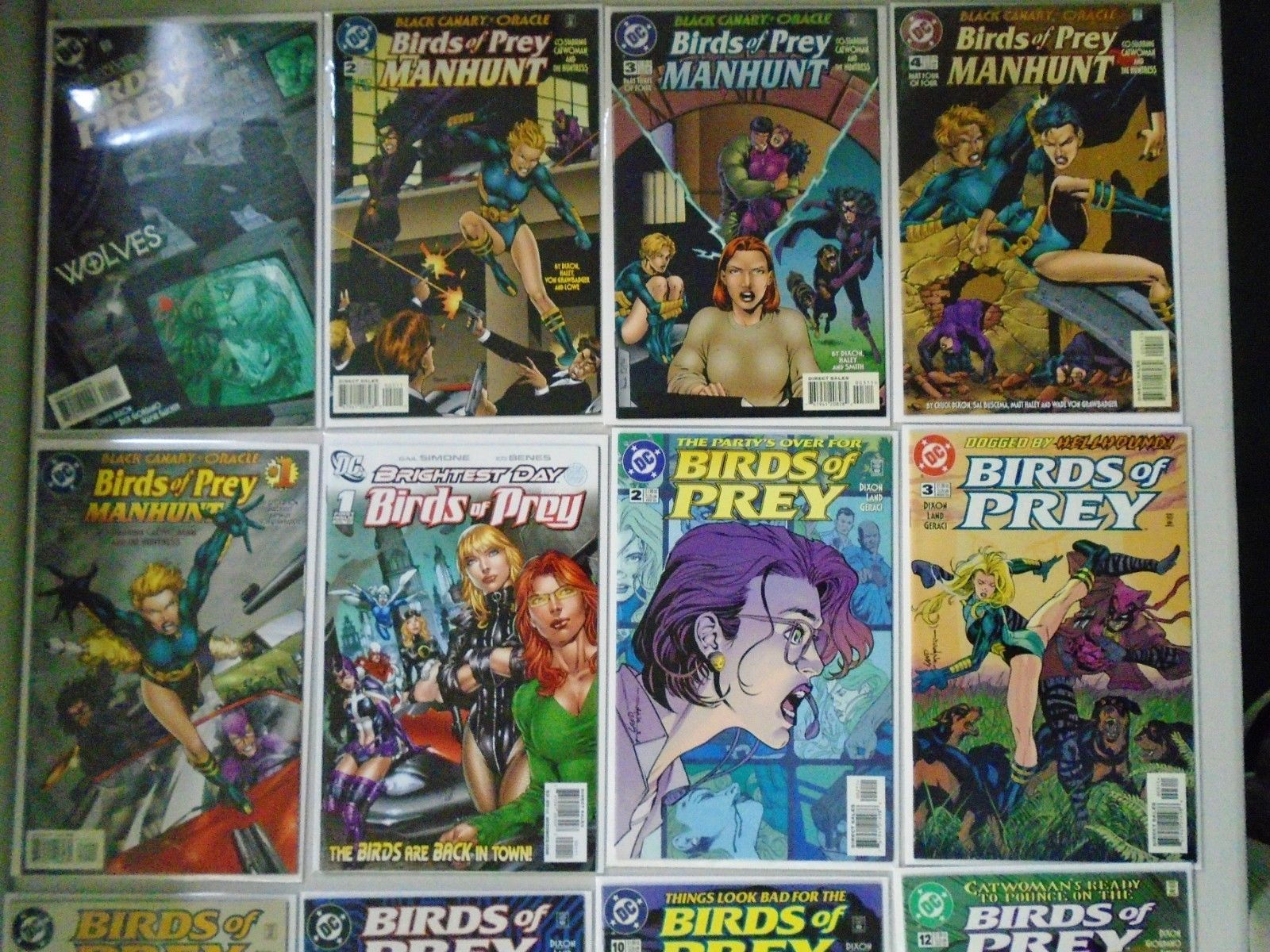 Birds Of Prey Comic Lot From 2 115 Specials 81 Different 8 0 Vf 1999 2006 Hipcomic