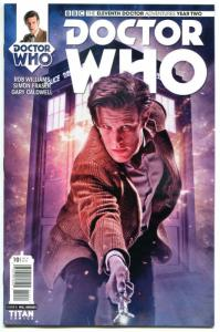 DOCTOR WHO #10 B, NM, 11th, Tardis, 2015, Titan, 1st, more DW in store, Sci-fi