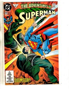 12 Superman DC Comics # 497 498 (2) 499 500 501 504 (2) 505 (2) 506 507 J295
