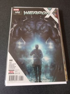 Weapon X #8 (2017)
