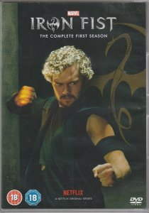 Iron Fist Season 1 DVD(UK Import)
