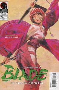 Blade of the Immortal #120 VF; Dark Horse | save on shipping - details inside