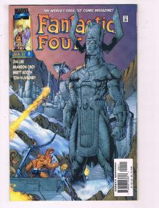 Fantastic Four #9 VF Marvel Comic Book Jim Lee Art Thing Torch 97 DE11