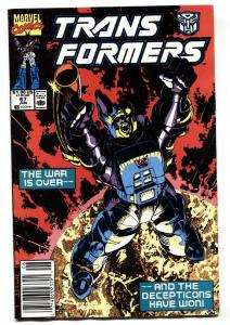 TRANSFORMERS #67 comic book-1990-later issue-htf-marvel VF