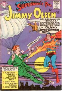 JIMMY OLSEN 89 VG-F Dec. 1965 COMICS BOOK