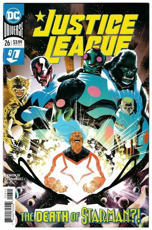 Justice League #26 Main Cvr (DC, 2019) NM