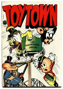 TOYTOWN  #4 1946-L.B. COLE-FUNNY ANIMAL-GOLDEN-AGE-nm-
