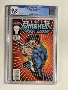 Punisher War Zone 28 Cgc 9.8 Wp Marvel 1 Of 3 On Census!
