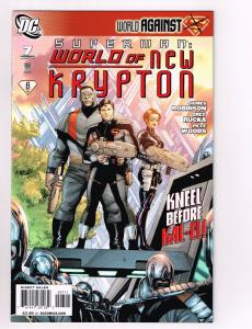Superman World Of New Krypton # 7 DC Comics Limited Series Christopher Reeve S11
