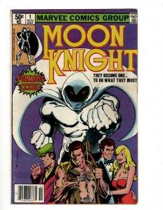 Moon Knight # 1 VF Marvel Comic Book Iron Man Avengers Hulk Thor Captain Am OF2