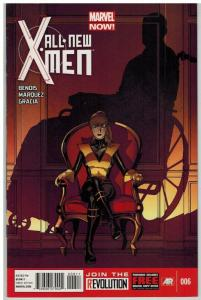 ALL NEW X MEN (2012) 6A VF Mar. 2013