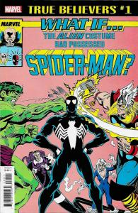 True Believers What If Alien Costume Possessed Spider-Man #1 (Marvel, 2018) NM