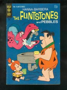FLINTSTONES #51 1969-GOLD KEY COMICS-PEBBLES VG