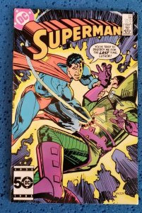 Superman #412 (1985) NM- 9.2 Lex Luthor