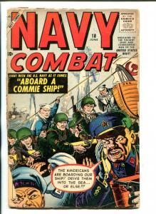 NAVY COMBAT #18-1958-ATLAS-JOE MANEELY-KOREA-WWII-fr