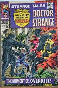 Strange Tales #151 (1966) Kirby/Steranko !!