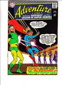 Adventure Comics #345 (Jun-66) FN+ Mid-High-Grade Legion of Super-Heroes, Sup...