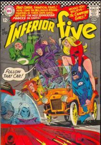 Inferior Five #1 (Apr-67) VF High-Grade Inferior Five (Merry Man, Dumb Bunny,...