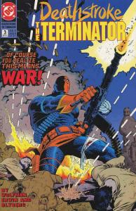 Deathstroke the Terminator #3 VF/NM; DC   save on shipping - details inside