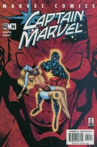 CAPTAIN MARVEL (1999 MARVEL) #34 NM- AGSMV3