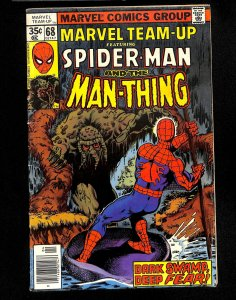 Marvel Team-up #68 Man-Thing Spider-Man!