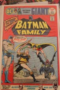 Batman Family #1 (Oct, 1975, DC) NM