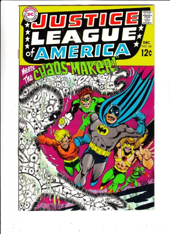 Justice League of America #68 (Dec-68) FN/VF- Mid-High-Grade Justice League o...