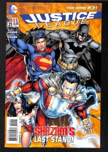 Justice League (2011) #21 NM- 9.2