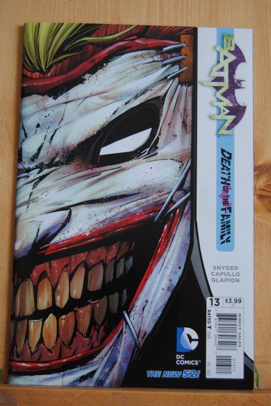 Batman 13, nm/mt Joker Cover, Die Cut