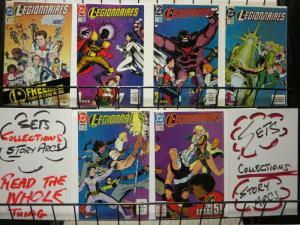 LEGIONNAIRES (1993) 1-6 FATAL 5 story arc