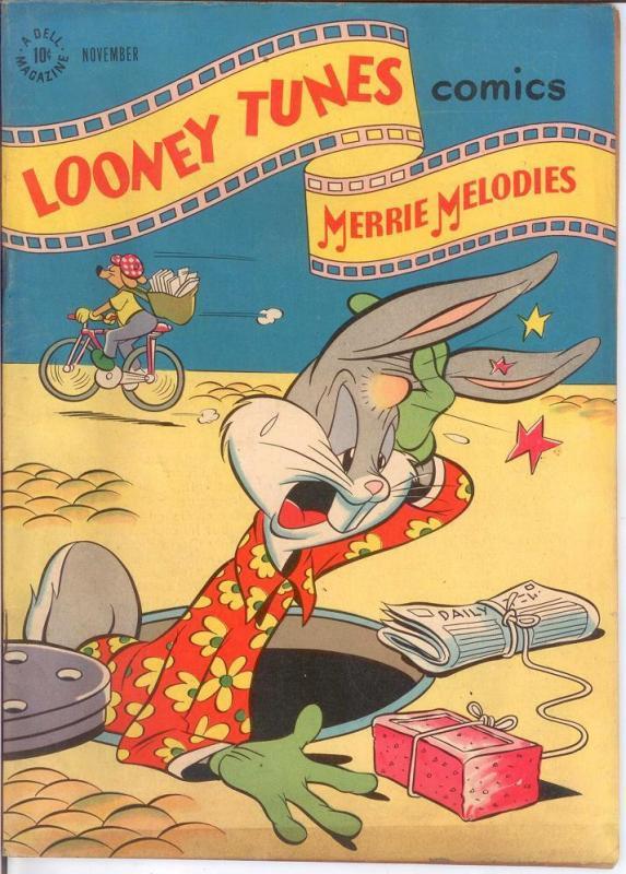LOONEY TUNES 73 G-VG Nov. 1947 BUGS BUNNY COMICS BOOK