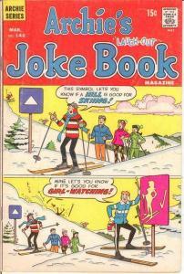 ARCHIES JOKE BOOK (1954-1982)146 VG Mar. 1970 COMICS BOOK