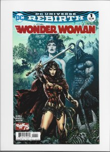 Wonder Woman #1 (2016) NM 9.4 HOT!!! JW221