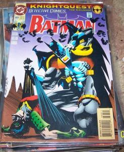 DETECTIVE COMICS  # 668 BATMAN    -KNIGHTQUEST CRUSADE DC  AZRAEL ROBIN**