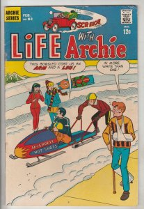 Life with Archie #82 (Feb-69) VF High-Grade Archie, Jughead, Betty, Veronica,...