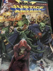 DC Justice League of America #6 Mint  The New 52